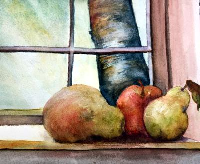 Fruit in the Window